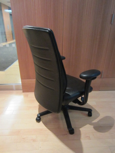 Leather Rapport Chair Conklin Office Furniture