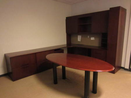 Stow Davis Desk Set Conklin Office Furniture