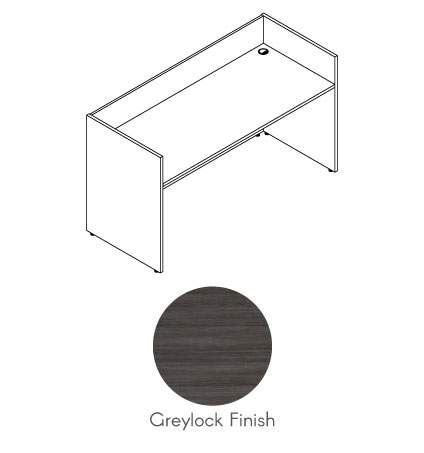 NR9531 - SKYLINE  - Reception Desk Shell Deluxe