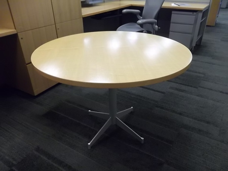Herman Miller Round Table Conklin Office Furniture