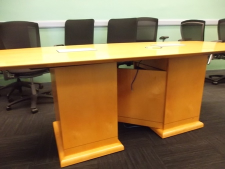 Conference Table and Credenza Set Conklin fice Furniture