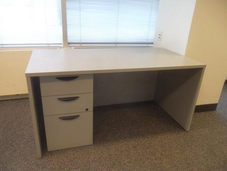 Laminate Single Pedestal Desks Conklin Office Furniture
