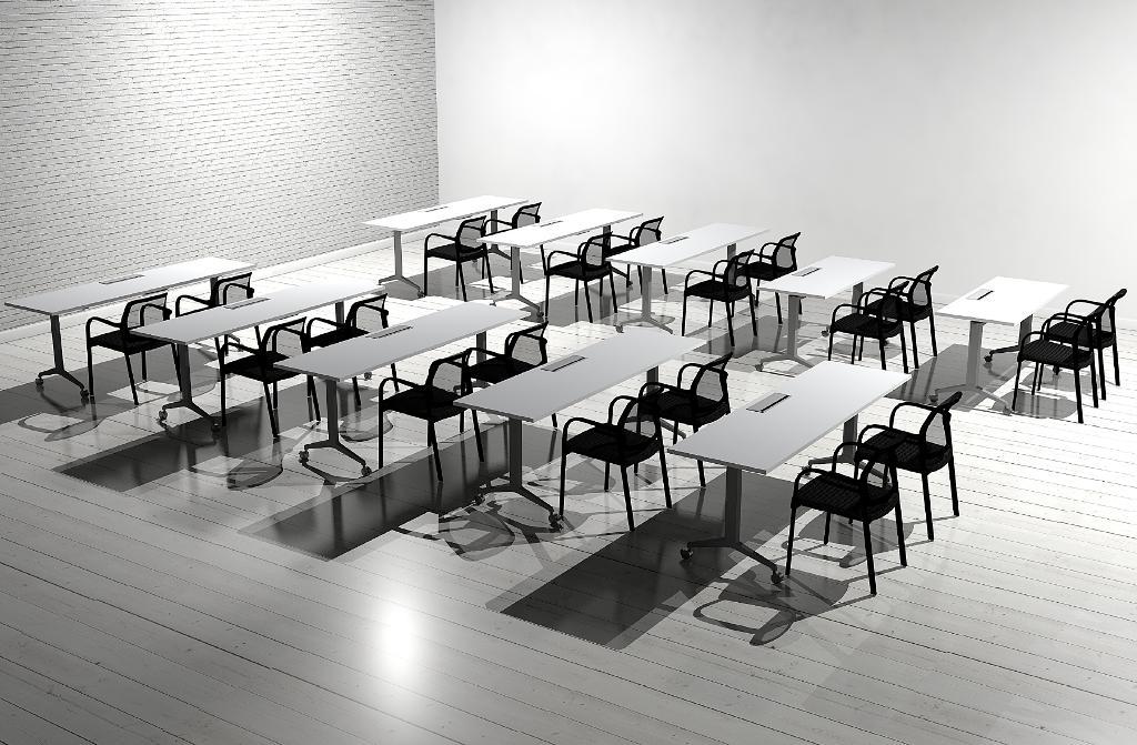 Custom Training Tables & Custom Training Tables   TT1651 - Conklin Office Furniture