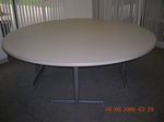 7 ft Round Conference Table (T400)