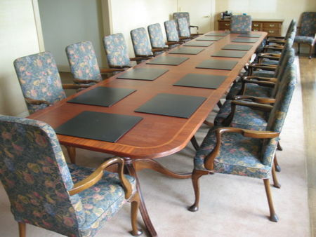 Traditional Wood Conference Table (T422)