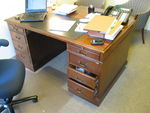 Traditional Double Pedestal Desk  (D427)