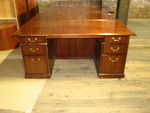 Kimball Double Pedestal Desk (D470)