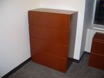4 drawer Wood Filing Cabinets (F672)