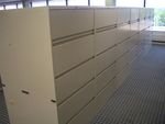 5 drawer Steelcase Filing Cabinets (F757)
