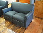 Black Loveseat (R895)