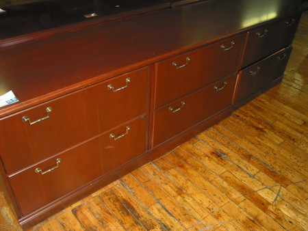 9ft Full Storage Credenza (T1003)