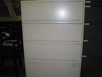 4 Drawer Lateral Filing Cabinets (F1006)