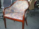 Barrel Back Side Chairs (C1025)