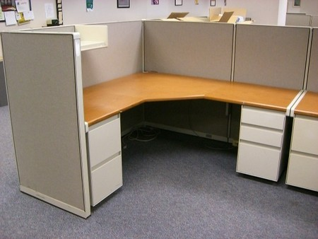 Steelcase Used Cubicles (W1143)