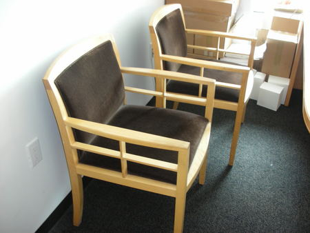 Bernhardt Wood Side Chairs (C1149)