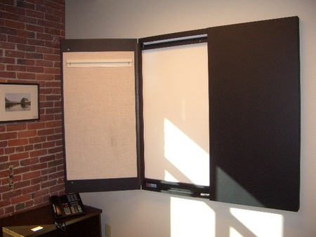 Black Presentation Boards (T1343)