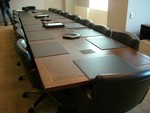 18 ft Custom Conference Table