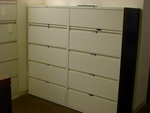 Steelcase 5 Drawer Lateral Filing Cabinets