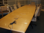 16' Boat Shape Conference Table