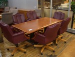 Light Cherry Conference Table