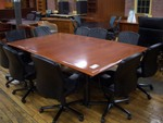 8 ft cherry conference table