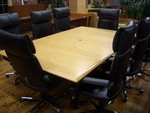 8 ft Maple Conference Table