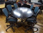 7 Ft Oval Conference Table