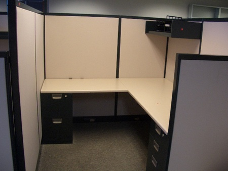 6x6 Steelcase Avenir Workstations