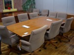 8 ft video conference table