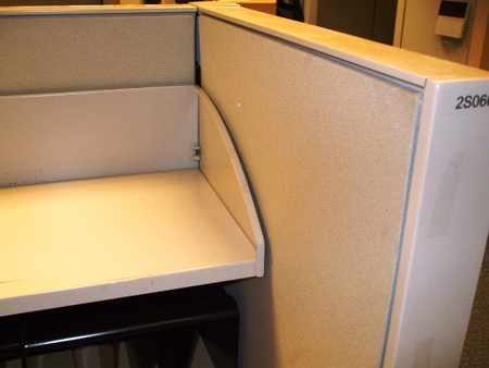 Shelf in Herman Miller Used Cubicles