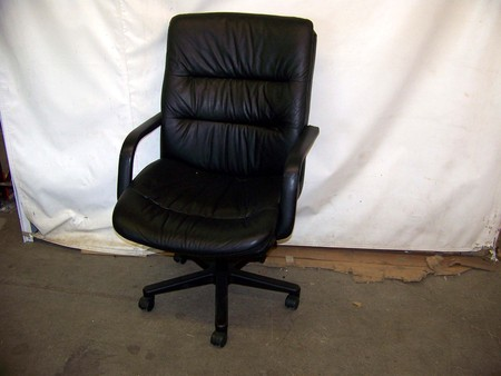 Black Leather Executive Seating