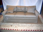 Fully Upholstered Three Seat Sofa