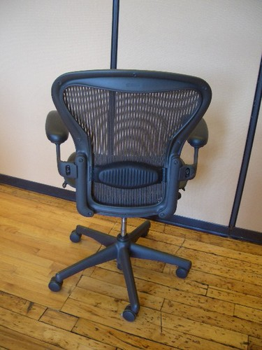 back of Herman Miller Aeron Chair