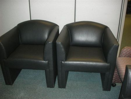 Black Club Chairs