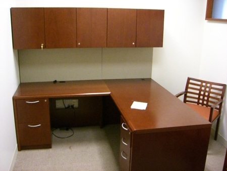 Used Desk Sets And Private Office Furniture Shipped