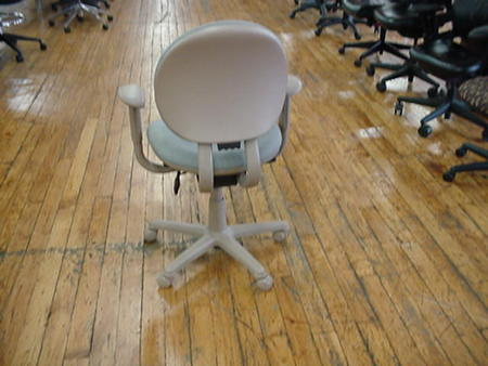 back of Steelcase Criterion Desk Chairs