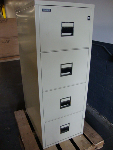 5 drawer vertical fire file