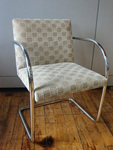 metal frame side chairs