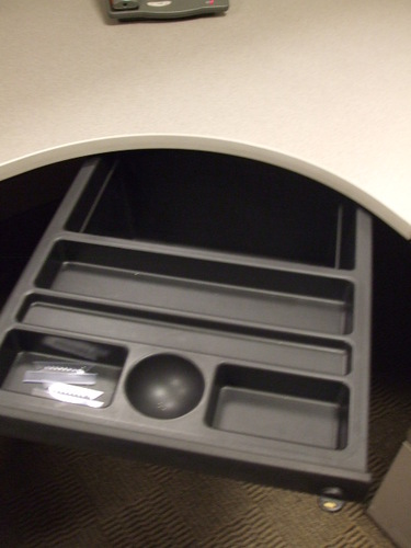 Center Drawer for Herman Miller cubicles