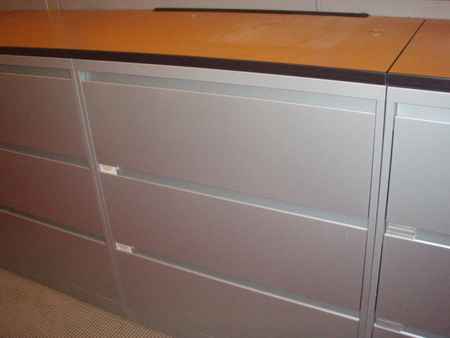 Steelcase 3 Drawer Filing Cabinets