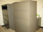 Steelcase 5 drawer files
