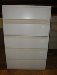 Allsteel 5 Drawer Filing Cabinets