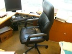 HBF High Back Leather Task Chairs