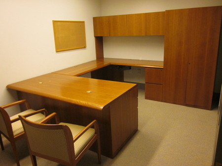 Cherry Executive Desk Sets