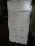 Steelcase 5 Drawer Filing Cabinets