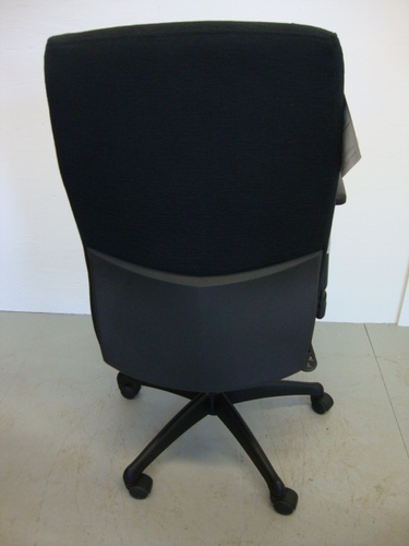 Back view of Conklin Status Chair