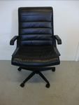 Leather Knoll Desk Chair