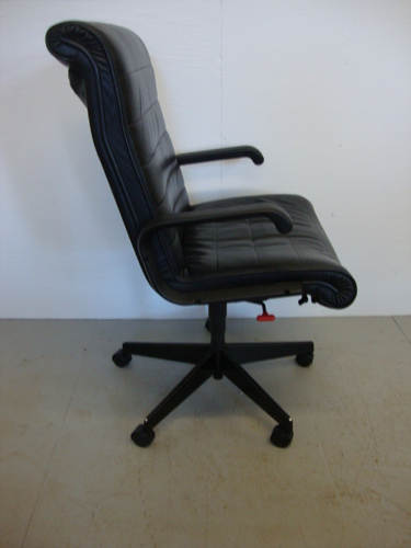 Conklin office furniture c2621 leather knoll desk chairs