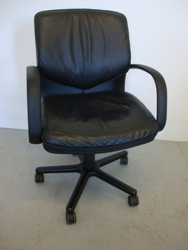 Leather Geiger Office Seating
