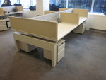Knoll Benching Stations